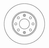 96471274 Диск тормозной CHEVROLET LANOS/AVEO/SPARK/ASTRA F/CORSA B/VECTRA A передний вент