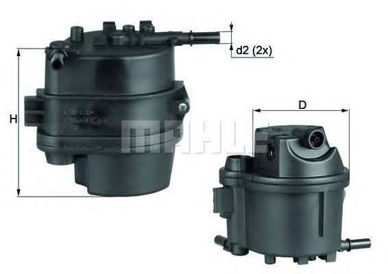 KL777D Фильтр топливный PEUGEOT 206/CITROEN C3/FORD FIESTA/MAZDA 2 1.4HDI