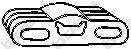 255911 Крепление глушителя OPEL ASTRA F 1.4-2.0 91-01