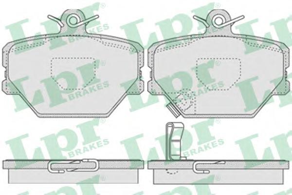 05P761 Колодки тормозные SMART 98- передние