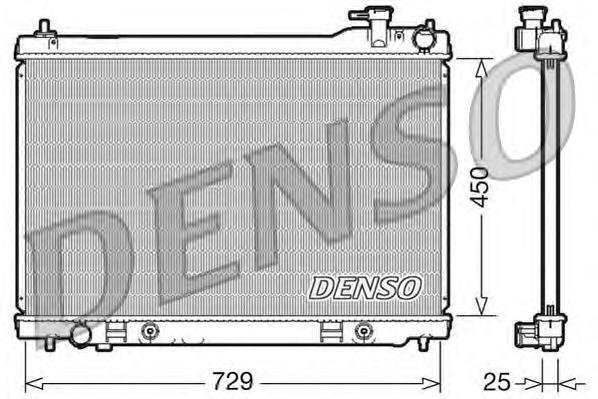 DRM46100 Радиатор системы охлаждения INFINITI: FX