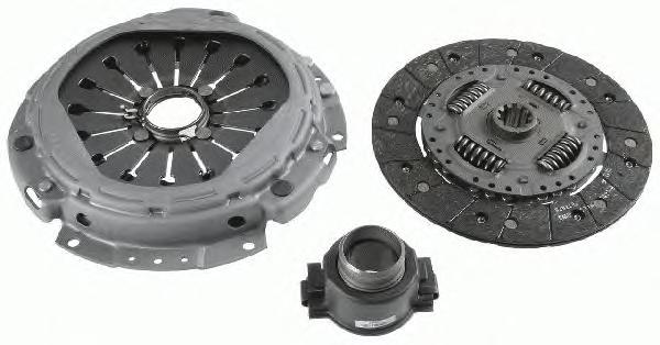 3400700433 Комплект сцепления IVECO DAILY III/IV 2.3 16V 02