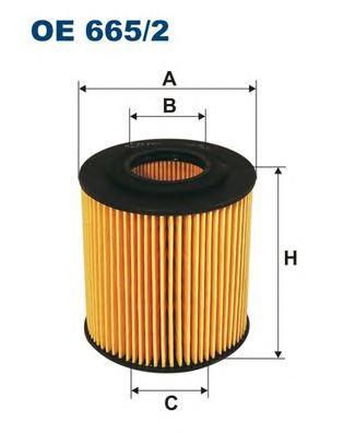 OE6652 Фильтр масляный FORD/MAZDA 1.8-2.5