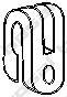 255014 Подвеска глушителя RENAULT