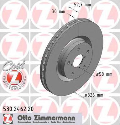 530246220 Тормозной диск