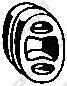 255041 Подвеска глушителя OPEL CORSA 1.2-1.7 93-00