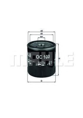 OC100 Фильтp масляный