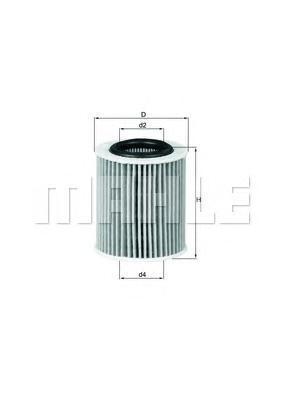 OX386D Фильтр масляный OPEL ASTRA/VECTRA 1.9 CDTi