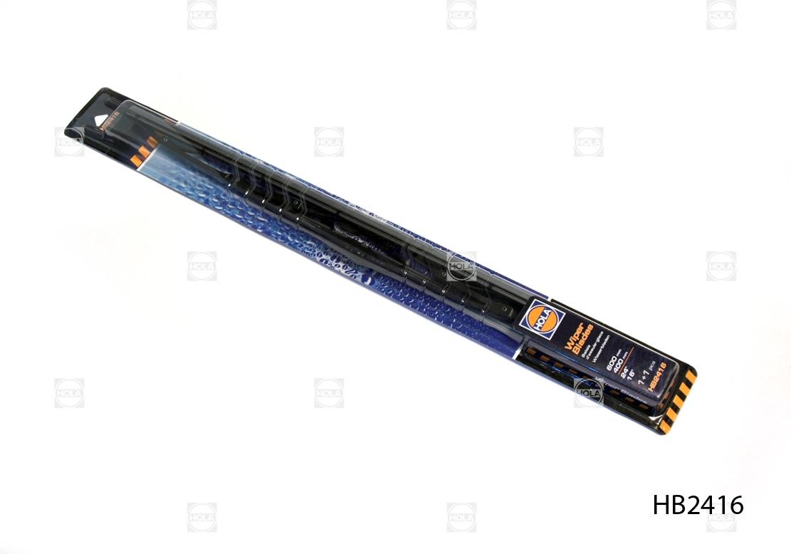 HB2416 Щетка стеклоочистителя 'HOLA' (600+400 мм) (к-т 2шт)