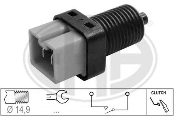 330713 Выключатель стоп-сигнала CITROEN C3/C5/C8/PEUGEOT 206/307