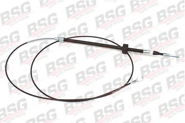 BSG60765001 Трос ручного тормоза / VW LT 28-35; M.B. Sprinter BM 901-903 (передний колесная база 3550 мм, спарка)  95~