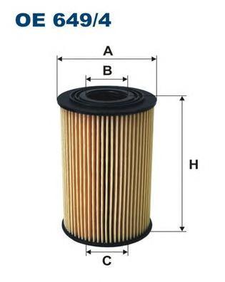 OE6494 Фильтр масляный BMW E36/E34/E46 1.6/1.8