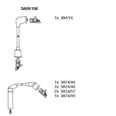 3a00156 Комплект проводов зажигания
