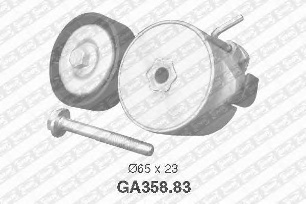 GA35883 Натяжитель ремня приводного FIAT PUNTO/BRAVO 1.1-1.4
