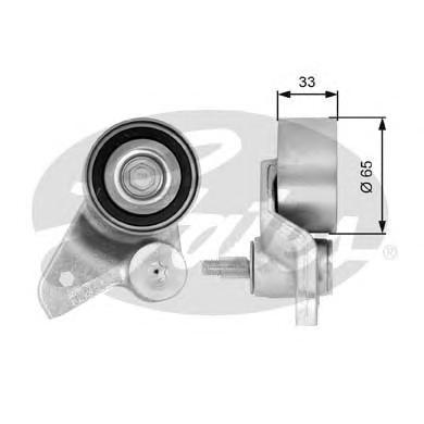 T41086 Ролик натяжной ремня ГРМ Audi A4 3.0 11/00-, A6 3.0 08/01-, A8 3.0 08/03-