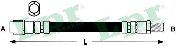 6T47848 Шланг тормозной MERCEDES W168/W169/W245/VANEO задний