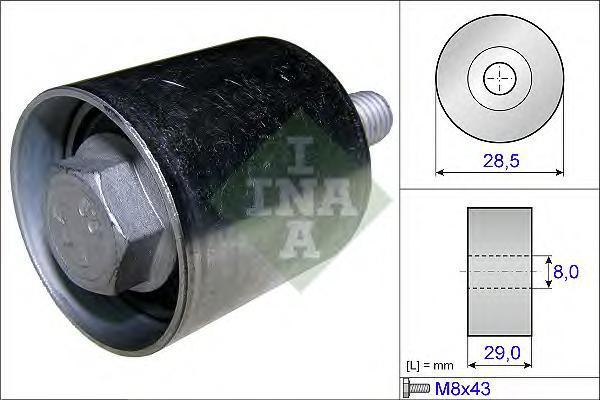 532066110 Ролик ремня ГРМ OPEL INSIGNIA/ASTRA/ZAFIRA/SAAB 9-5 2.0TD 08-