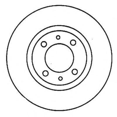 562011j Тормозной диск