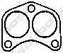 256640 Прокладка выпускной системы FORD TRANSIT 2.0 91-94