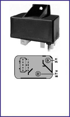 132088 Реле свечей накаливания CITROEN: BERLINGO (MF) 1.9 D (MFWJZ)/1.9 D 4WD (MFWJZ)/2.0 HDI 90 (MFRHY) 96-, BERLINGO ФУРГОН (M