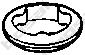 256946 Кольцо уплотнительное SKODA OCTAVIA 1.4 00- / VW BORA / GOLF 1.4-1.6 00-06