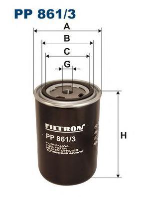 PP8613 Фильтр топливный MAN