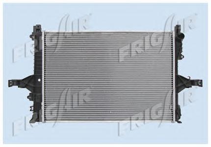 01113004 Радиатор, охлаждение двигателя