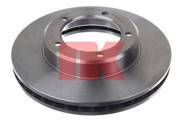 204597 Диск тормозной TOYOTA LAND CRUISER J100 4.2D/4.7 98-07 передний вент.