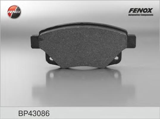BP43086 Колодки тормозные FORD TRANSIT 06- задние с датчиком