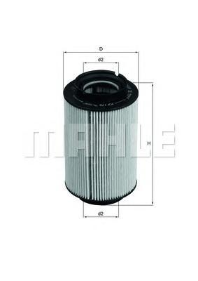 KX178D Фильтр топливный VAG A3/G5/TOURAN 1.9/2.0 TDI/SDI