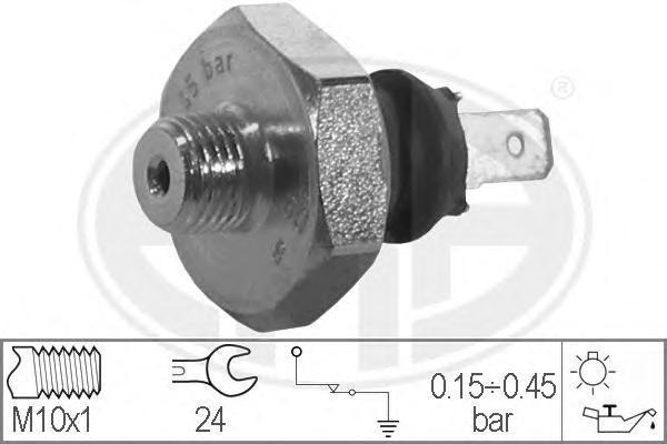330317 Датчик давления масла ALFA ROMEO: 155 (167) 1.7 T.S./1.7 T.S. (167.A4D, 167.A4H)/1.8 T.S. Sport (167.A4A, 167.A4C, 167.A4