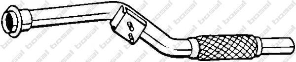 800003 Приемная труба MB SPRINTER 2.2 CDI 00-06