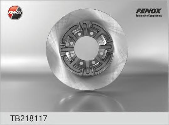 TB218117 Диск тормозной IVECO DAILY 2.5-2.8 96- задний