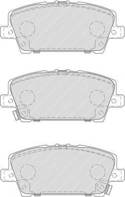 FDB1859 Колодки тормозные HONDA CIVIC Hatchback 05- передние