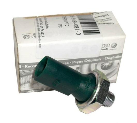 036919081D Датчик давления масла  (0,3-0,6bar-зеленый) / Audi, Seat, Skoda, VW 1.0-1.8 97~