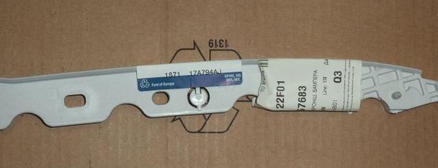 1357683 Кронштейн переднего бампера левый / FORD Mondeo-III 04~