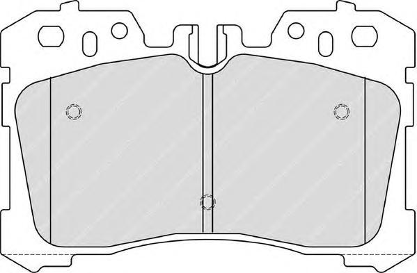 FDB4277 Колодки тормозные LEXUS LS460-600 06- передние