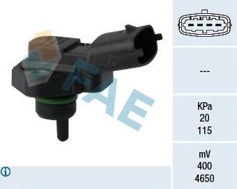 15119 Датчик, давление во впускном газопроводе