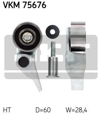 VKM75676 Натяжитель ремня ГРМ MITSUBISHI L200 2.5 DI-D 05-