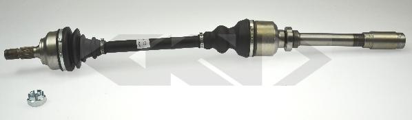 24773 Вал приводной R PSA 308 07- АКПП A4L