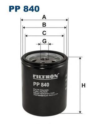 PP840 Фильтр топливный MB W123/W460 2.0D-3.0D 76-85