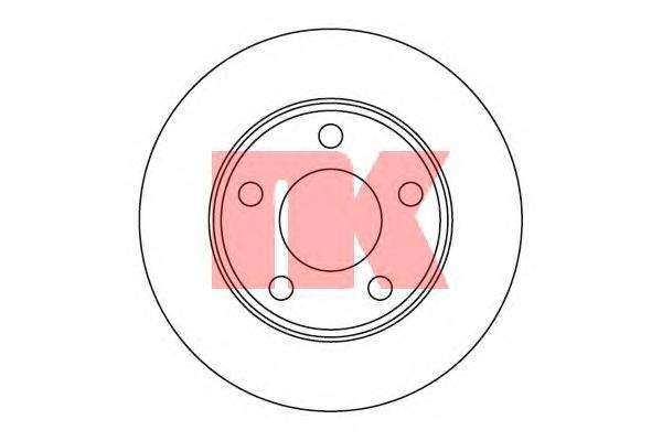 204784 Диск тормозной задний / AUDI A-6 Quattro, Allroad ( 10-255 ) 97 - 05