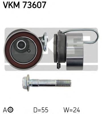 VKM73607 Ролик натяжной ремня ГРМ Honda Civic 1.4/1.6/1.7 16V 01