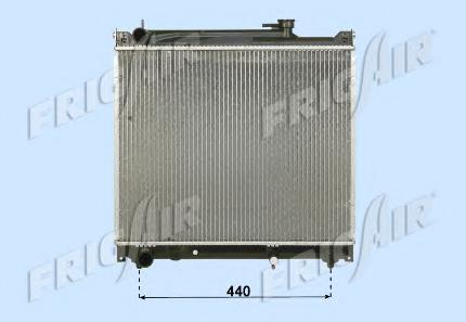 01143033 Радиатор, охлаждение двигателя