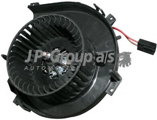 1226100500 Мотор отопителя салона с крыльчаткой / OPEL Corsa-C 1.0-1.8