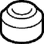 915017 Шайба упл. клап.крышки VAG