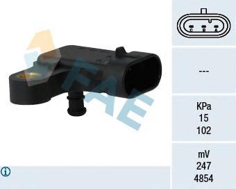 15121 Датчик, давление во впускном газопроводе
