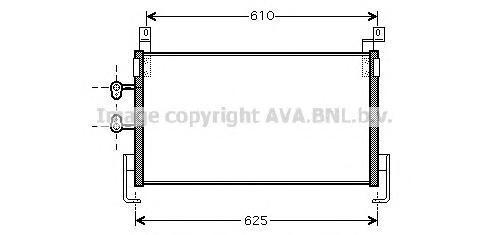 CR5095 Конденсер CHRYSLER NEON 1.6/2.0 00-