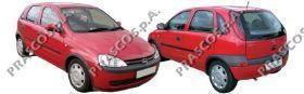 OP0307403 Кожух зеркала правый-черный / OPEL Corsa-C