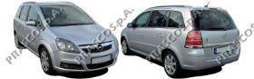 OP7171244 Вставка бампера переднего, левая / OPEL Zafira B  05~